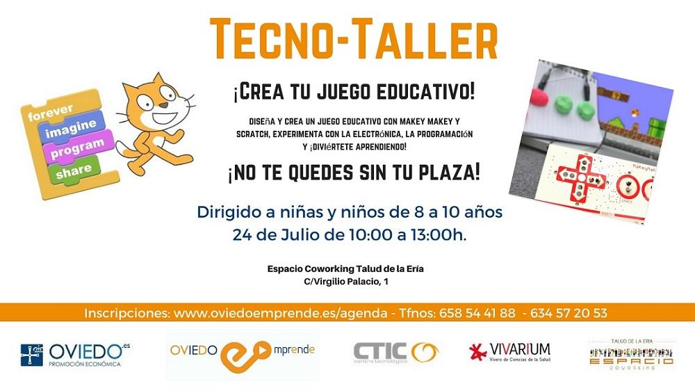 Taller Tecnologico Creacion De Juegos Educativos Oviedo Emprende